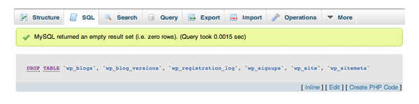 SQL Query Success