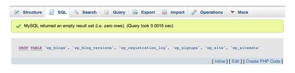SQL Query Success