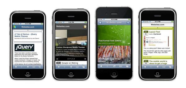 WP Mobile Detector Design