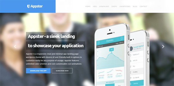 Appster Landing Page Theme