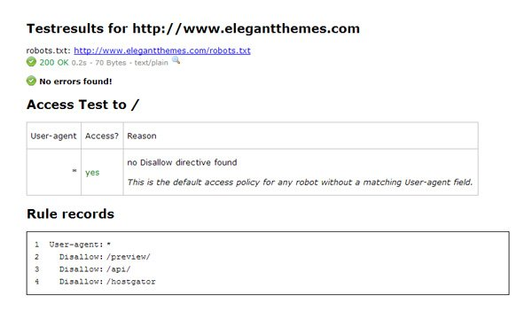 how to create and configure your robots txt file elegant themes blog