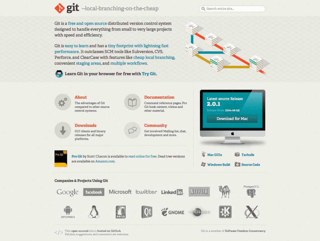git-homepage