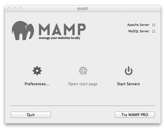 mamp-interface