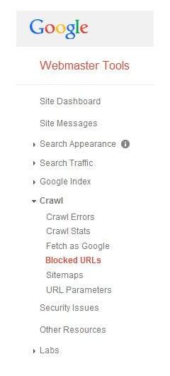 Blocker URLs