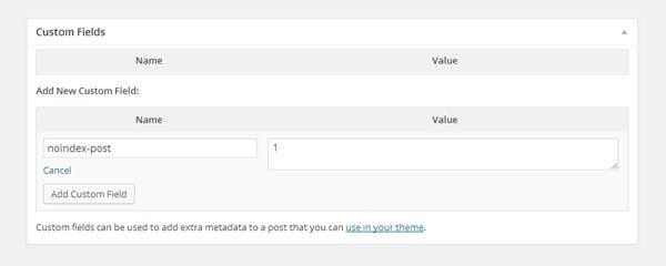 WordPress Custom Field