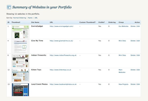 WordPress Portfolio Plugin