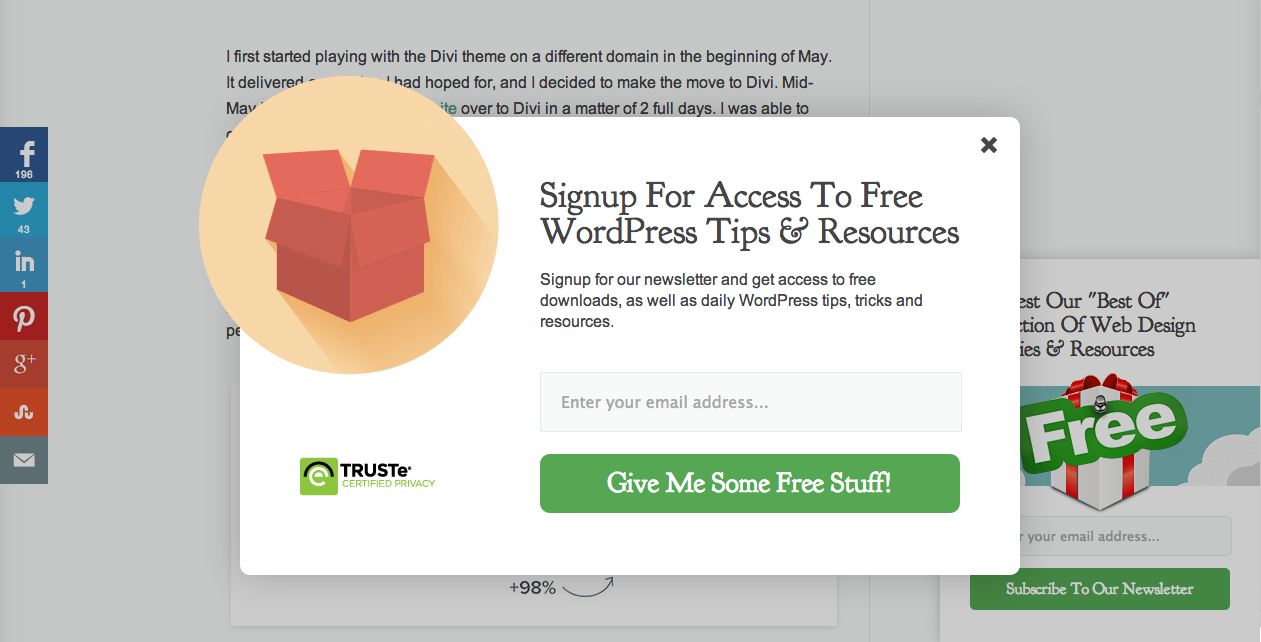 Using MailChimp On Your WordPress Website To Increase Readership ...