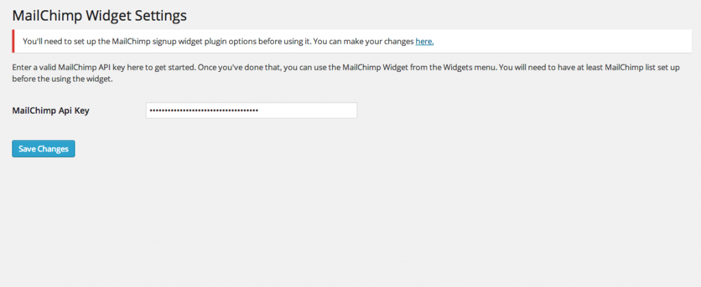 mailchimp-settings