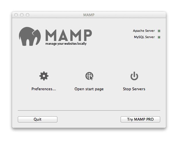 mamp-start-server