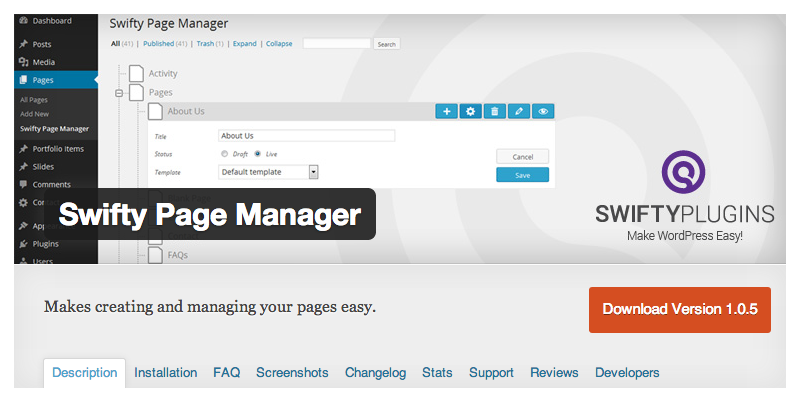 swifty-page-manager