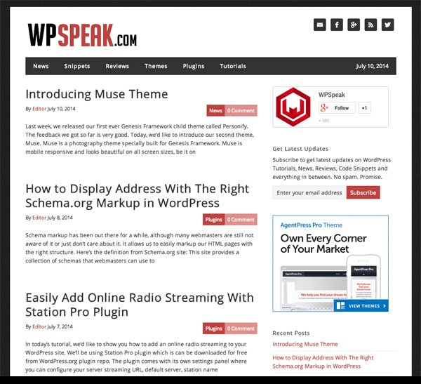 WP Speak