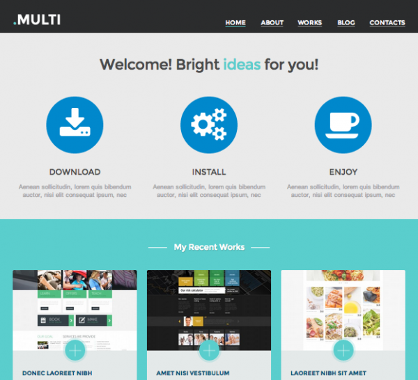 Multi Web Design by Crocoblock