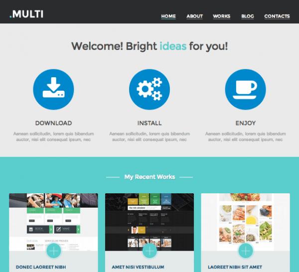 Multi Web Design by Crocoblock