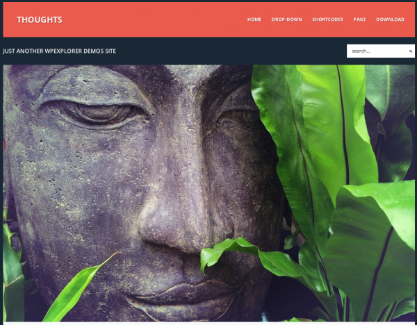 Thoughts Theme by WP Explorer