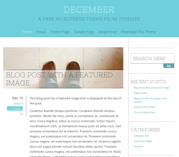 December by iThemes