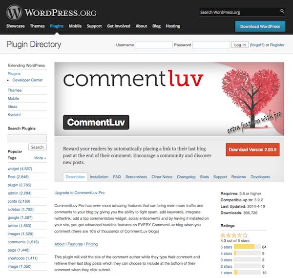 commentluv-plugin