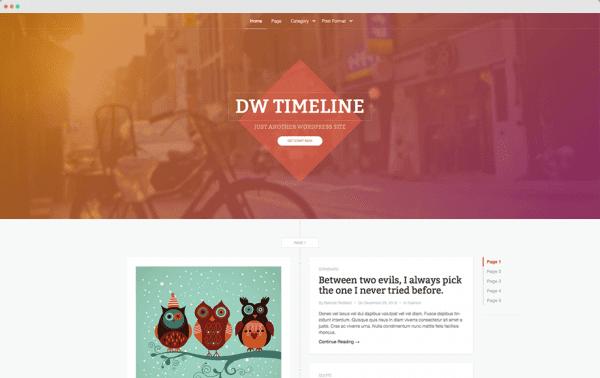 DW Timeline theme by DesignWall