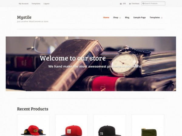 MyStile WooCommerce Theme by WooThemes