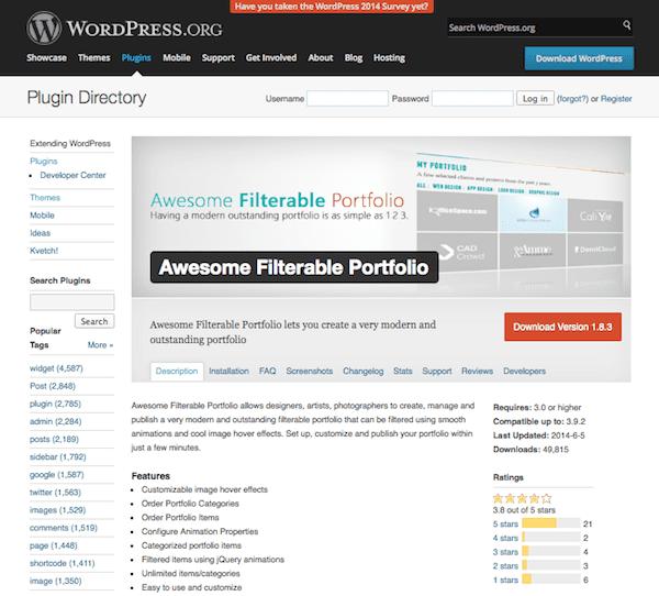 creating a killer online portfolio website using wordpress