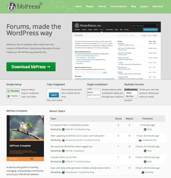 Top 11 Ways To Add A Forum To Your WordPress Website | Elegant