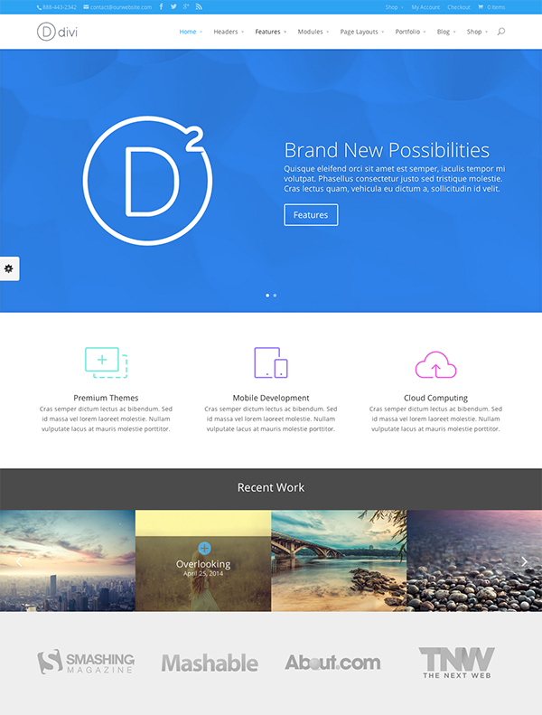 Web Design Trends To Look Out For In 2015 | Elegant Themes Blog