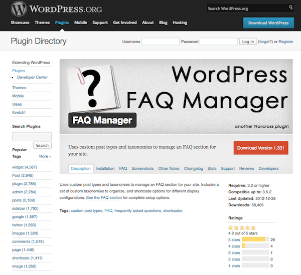 faq-manager