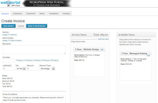 How To Invoice Your Clients Using WordPress Elegant Themes Blog - Wordpress invoice plugin