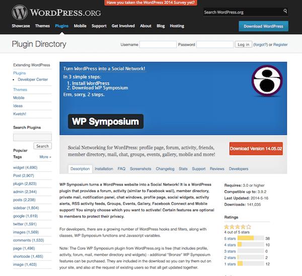 wp-symposium