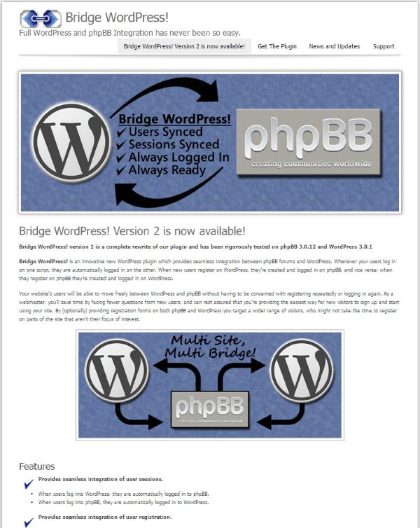 Bridge WordPress