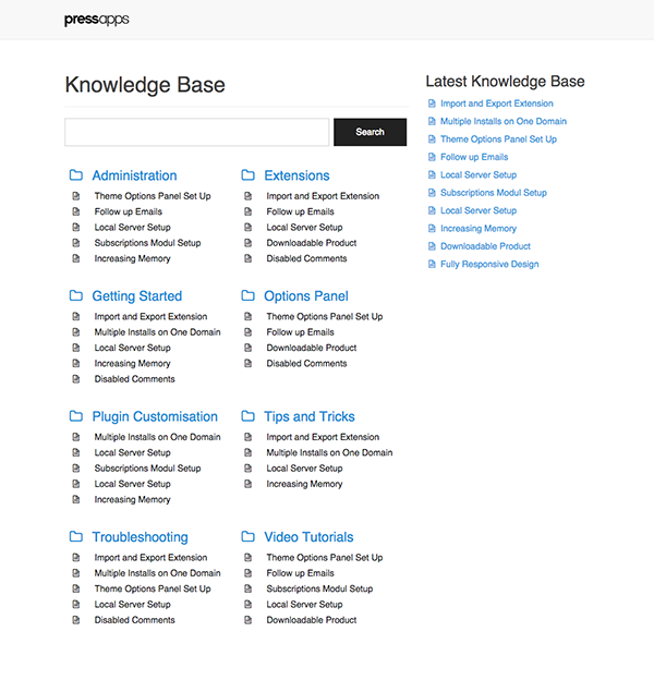 Knowledge base plugin for wordpress help and documents mandegarfo knowledge base plugin for wordpress help and documents maxwellsz