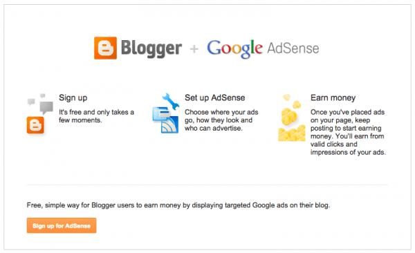 Blogger and Adsense