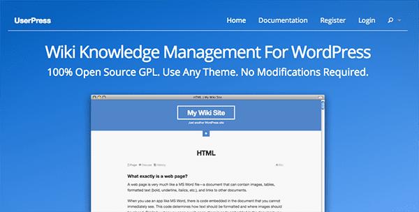 UserPress-WordPress-Wiki-Plugin