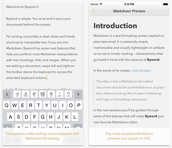 WordPress-iOS-Apps-ByWord