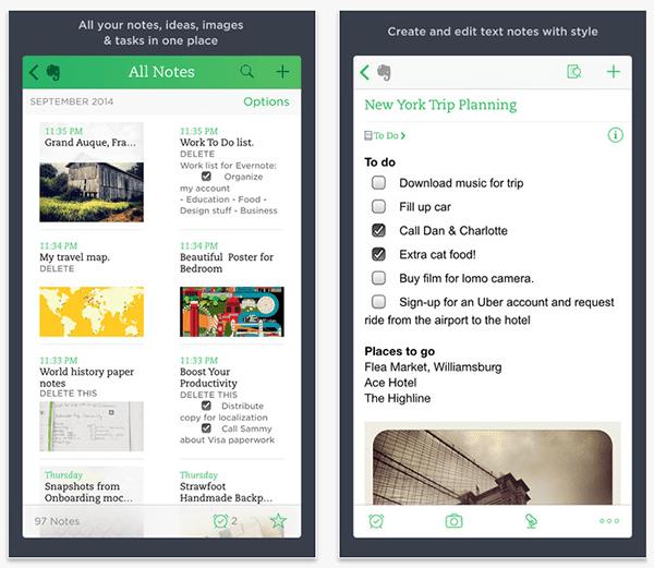 WordPress-iOS-Apps-Evernote