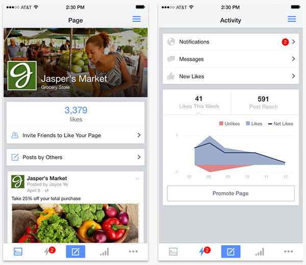 WordPress-iOS-Apps-Facebook-Pages