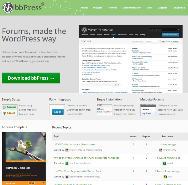 How To Integrate An Existing Forum Into WordPress | Elegant Themes Blog