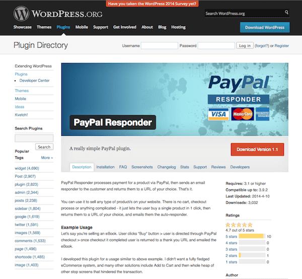 paypal-responder