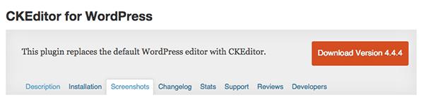 wordpress-editor-plugins-ckeditor