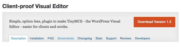 wordpress-editor-plugins-client-proof