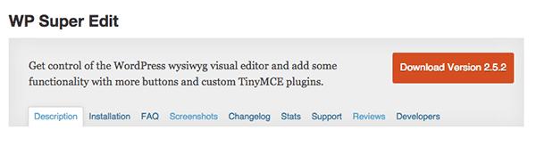 wordpress-editor-plugins-wp-super-edit