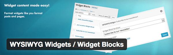 wordpress-editor-plugins-wysiwyg-widgets