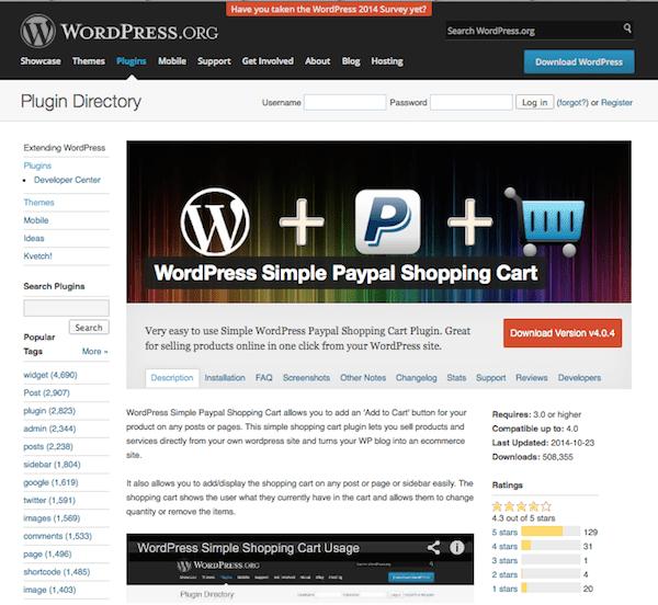 wordpress-simple-paypal-shopping-cart