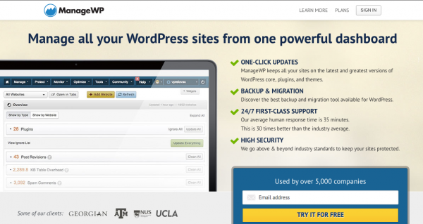 Manage Your WordPress Site with ManageWP