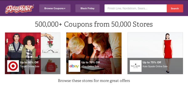 Use RetailMeNot to Find Coupon Codes for WordPress
