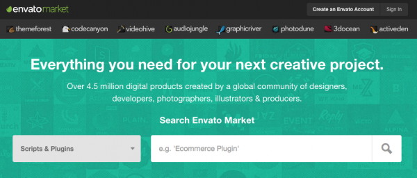 Monthly Freebies On Envato Market