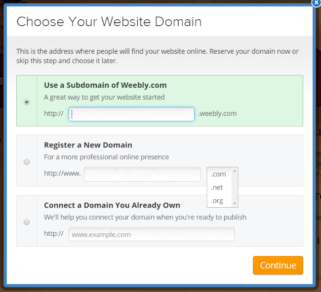 Taking Weebly for a Test Drive