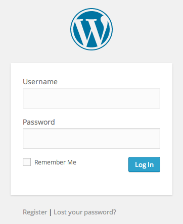 White-Label-WordPress-login-screen