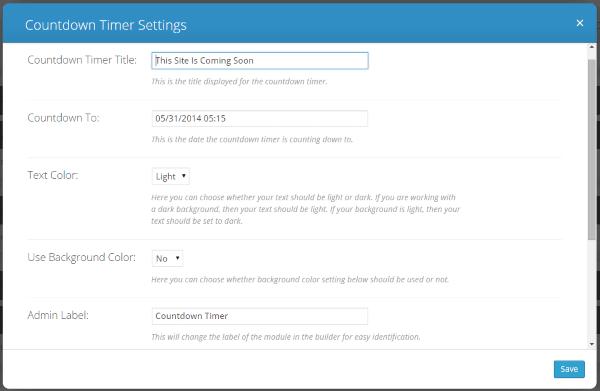 Why You Should Use WordPress Countdown Plugins - countdown timer settins