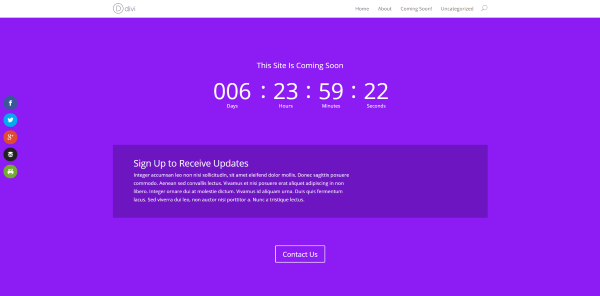 Why You Should Use WordPress Countdown Plugins - divi countdown timer