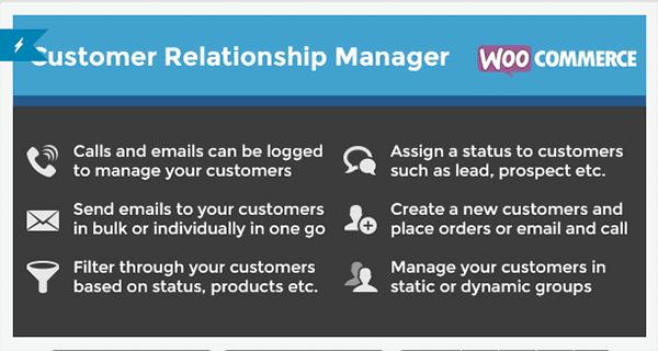 WooCommerce-Customer-Relationship-Manager